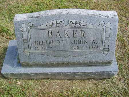 BAKER, JOHN - Gallia County, Ohio | JOHN BAKER - Ohio Gravestone Photos