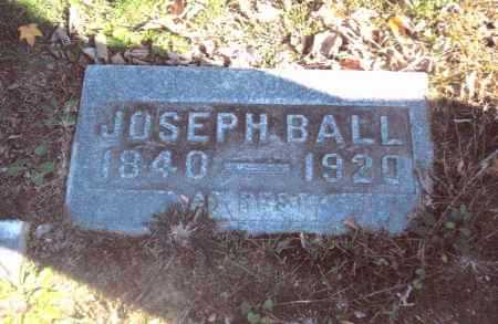 BALL, JOSEPH - Gallia County, Ohio | JOSEPH BALL - Ohio Gravestone Photos