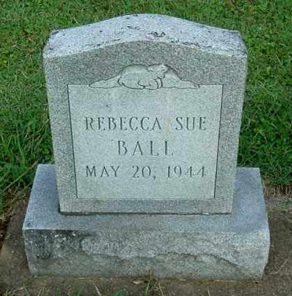 BALL, REBECCA SUE - Gallia County, Ohio | REBECCA SUE BALL - Ohio Gravestone Photos