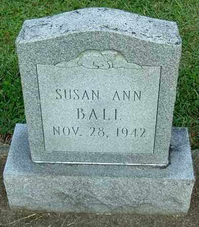 BALL, SUSAN ANN - Gallia County, Ohio | SUSAN ANN BALL - Ohio Gravestone Photos