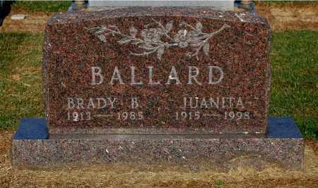 BALLARD, JUANITA - Gallia County, Ohio | JUANITA BALLARD - Ohio Gravestone Photos