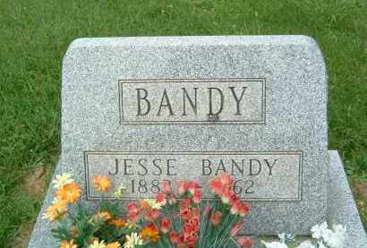 BANDY, JESSE - Gallia County, Ohio | JESSE BANDY - Ohio Gravestone Photos