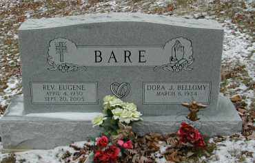 BELLOMY BARE, DORA J. - Gallia County, Ohio | DORA J. BELLOMY BARE - Ohio Gravestone Photos