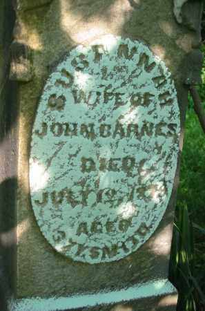 BARNES, SUSANNAH - Gallia County, Ohio | SUSANNAH BARNES - Ohio Gravestone Photos