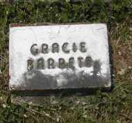 BARRETS, GRACIE - Gallia County, Ohio | GRACIE BARRETS - Ohio Gravestone Photos