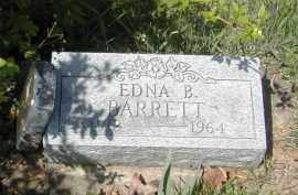 BARRETT, EDNA - Gallia County, Ohio | EDNA BARRETT - Ohio Gravestone Photos