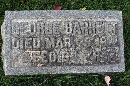BARRETT, GEORGE - Gallia County, Ohio | GEORGE BARRETT - Ohio Gravestone Photos