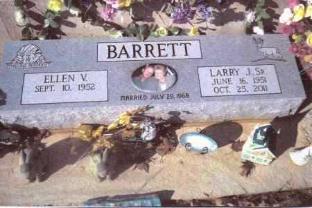 BARRETT, LARRY - Gallia County, Ohio | LARRY BARRETT - Ohio Gravestone Photos