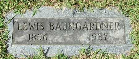BAUMGARDNER, LEWIS - Gallia County, Ohio | LEWIS BAUMGARDNER - Ohio Gravestone Photos