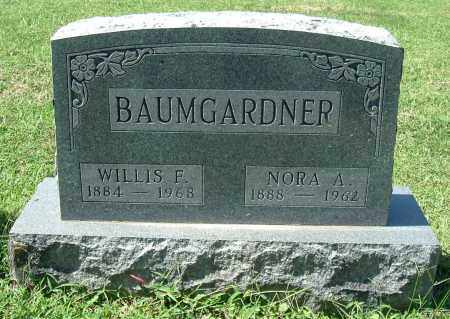 BAUMGARDNER, WILLIS F - Gallia County, Ohio | WILLIS F BAUMGARDNER - Ohio Gravestone Photos