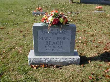 BEACH, KIARA - Gallia County, Ohio | KIARA BEACH - Ohio Gravestone Photos
