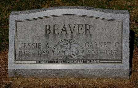 BEAVER, JESSIE A - Gallia County, Ohio | JESSIE A BEAVER - Ohio Gravestone Photos