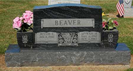 BEAVER, MYRNA A - Gallia County, Ohio | MYRNA A BEAVER - Ohio Gravestone Photos