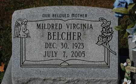 BELCHER, MILDRED VIRGINIA - Gallia County, Ohio | MILDRED VIRGINIA BELCHER - Ohio Gravestone Photos