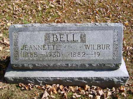 BELL, JEANNETTE - Gallia County, Ohio | JEANNETTE BELL - Ohio Gravestone Photos