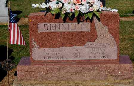 BENNETT, CLYDE E - Gallia County, Ohio | CLYDE E BENNETT - Ohio Gravestone Photos