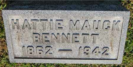 MAUCK BENNETT, HATTIE - Gallia County, Ohio | HATTIE MAUCK BENNETT - Ohio Gravestone Photos