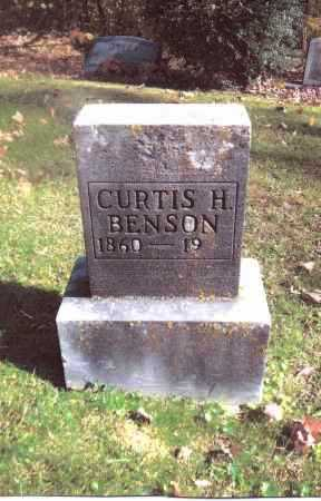 BENSON, CURTIS H. - Gallia County, Ohio | CURTIS H. BENSON - Ohio Gravestone Photos