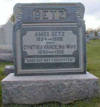 BETZ, CYNTHIA - Gallia County, Ohio | CYNTHIA BETZ - Ohio Gravestone Photos