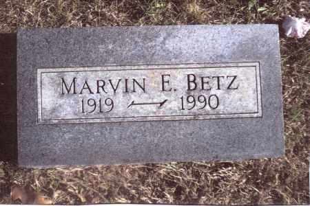 BETZ, MARVIN E. - Gallia County, Ohio | MARVIN E. BETZ - Ohio Gravestone Photos