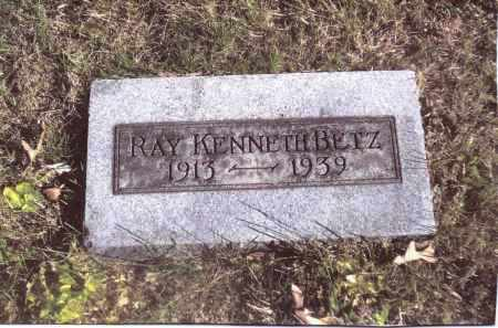 BETZ, RAY KENNETH - Gallia County, Ohio | RAY KENNETH BETZ - Ohio Gravestone Photos
