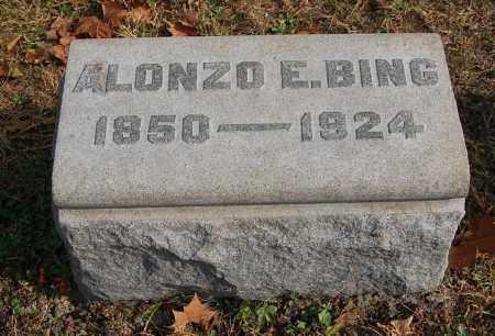 BING, ALONZO E - Gallia County, Ohio | ALONZO E BING - Ohio Gravestone Photos