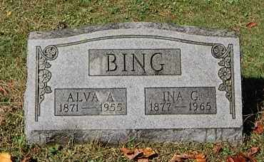 BING, ALVA A - Gallia County, Ohio | ALVA A BING - Ohio Gravestone Photos