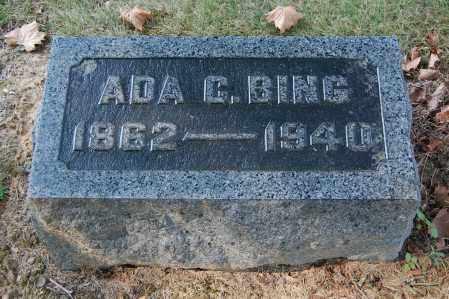 BING, ADA C - Gallia County, Ohio | ADA C BING - Ohio Gravestone Photos