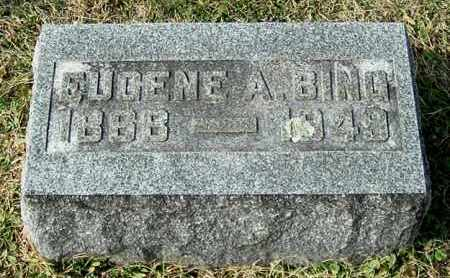 BING, EUGENE A - Gallia County, Ohio | EUGENE A BING - Ohio Gravestone Photos