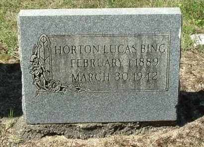 BING, HORTON LUCAS - Gallia County, Ohio | HORTON LUCAS BING - Ohio Gravestone Photos