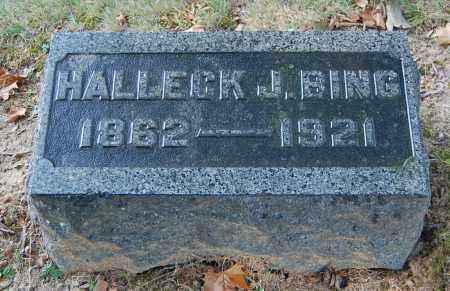 BING, HALLECK J - Gallia County, Ohio | HALLECK J BING - Ohio Gravestone Photos