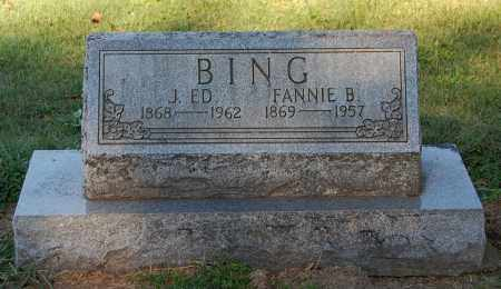 BING, J ED - Gallia County, Ohio | J ED BING - Ohio Gravestone Photos