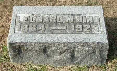 BING, LEONARD M - Gallia County, Ohio | LEONARD M BING - Ohio Gravestone Photos