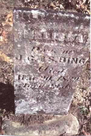 BING, MALISSA - Gallia County, Ohio | MALISSA BING - Ohio Gravestone Photos