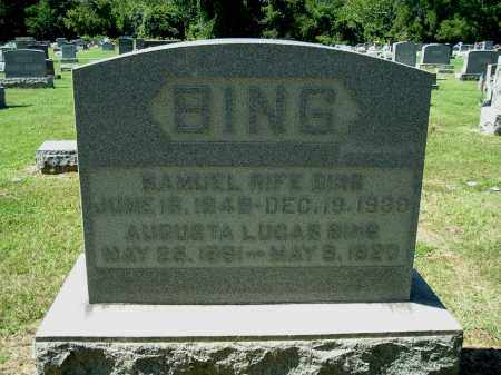 BING, SAMUEL RIFE - Gallia County, Ohio | SAMUEL RIFE BING - Ohio Gravestone Photos