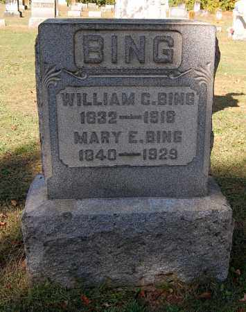 BING, MARY E - Gallia County, Ohio | MARY E BING - Ohio Gravestone Photos