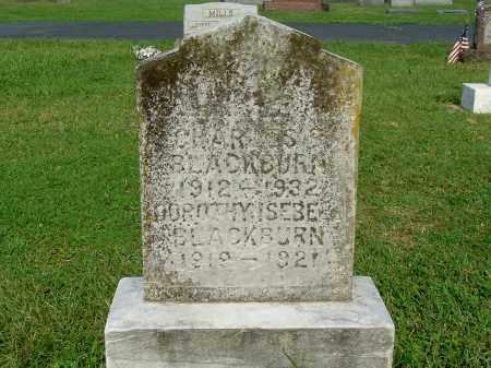 BLACKBURN, CHARLES B - Gallia County, Ohio | CHARLES B BLACKBURN - Ohio Gravestone Photos