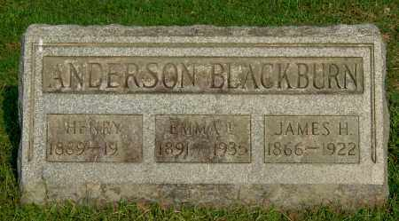 BLACKBURN, JAMES H - Gallia County, Ohio | JAMES H BLACKBURN - Ohio Gravestone Photos