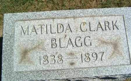 BLAGG, MATILDA - Gallia County, Ohio | MATILDA BLAGG - Ohio Gravestone Photos