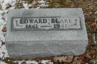 BLAKE, EDWARD - Gallia County, Ohio | EDWARD BLAKE - Ohio Gravestone Photos