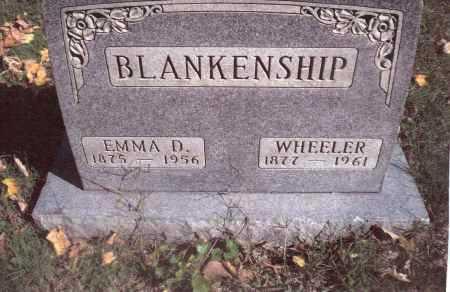 BLANKENSHIP, EMMA D. - Gallia County, Ohio | EMMA D. BLANKENSHIP - Ohio Gravestone Photos