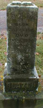 BLAZER, ADAM - Gallia County, Ohio | ADAM BLAZER - Ohio Gravestone Photos