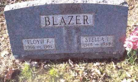BLAZER, STELLA  I. - Gallia County, Ohio | STELLA  I. BLAZER - Ohio Gravestone Photos