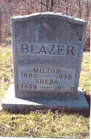 BLAZER, MILTON - Gallia County, Ohio | MILTON BLAZER - Ohio Gravestone Photos