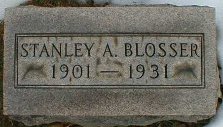 BLOSSER, STANLEY - Gallia County, Ohio | STANLEY BLOSSER - Ohio Gravestone Photos