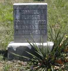 BLOSSER, SAMUEL - Gallia County, Ohio | SAMUEL BLOSSER - Ohio Gravestone Photos