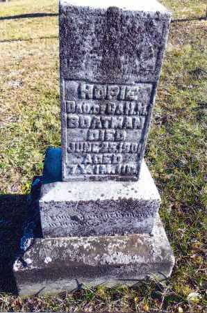 BOATMAN, HOPIE - Gallia County, Ohio | HOPIE BOATMAN - Ohio Gravestone Photos