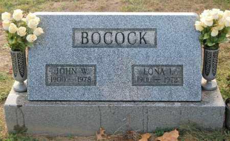 BOCOCK, JOHN W. - Gallia County, Ohio | JOHN W. BOCOCK - Ohio Gravestone Photos