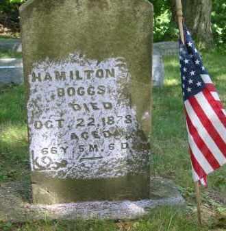 BOGGS, HAMILTON - Gallia County, Ohio | HAMILTON BOGGS - Ohio Gravestone Photos