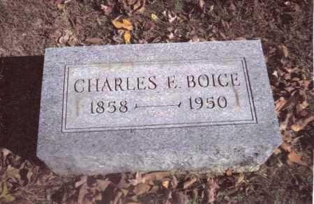 BOICE, CHARLES E. - Gallia County, Ohio | CHARLES E. BOICE - Ohio Gravestone Photos